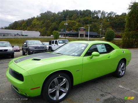 green dodge challenger dodge challenger sublime green 2015 autos post