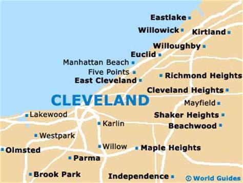 cleveland usa map maps usa map cleveland