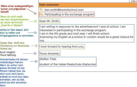 Offiziellen Brief Beenden Englisch formal e mails schullv de