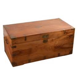 british caign style chorwood trunk with brass hardware at 1stdibs