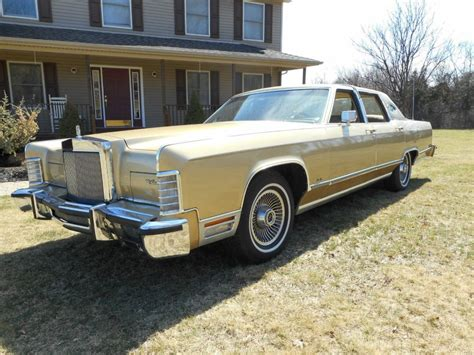 town car 1979 lincoln town car for sale
