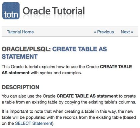 Create Table Oracle by 17 Best Images About Oracle Plsql On Regular