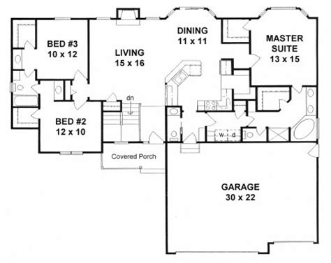 ranch house plans with mudroom plan 1539 3 bedroom ranch w mud room walk in pantry