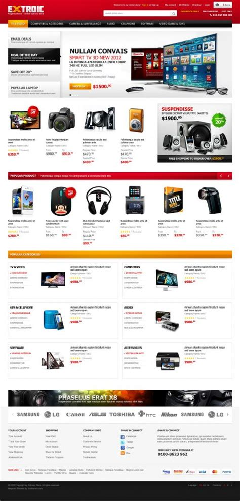Electronics Opencart Theme Extroic Boss Themes Opencart Templates Free
