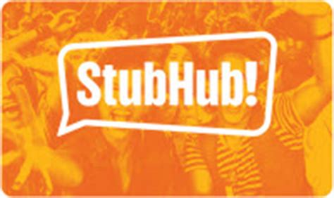 Stub Hub Gift Cards - stubhub gift card balance check the balance of your stubhub gift cards