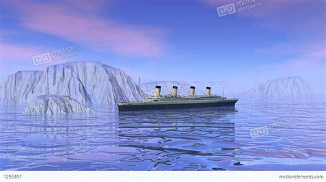 titanic money boat titanic boat sinking 3d render stock animation 1292491