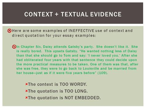 Contextual Analysis Essay by Context Analysis Essay Exle