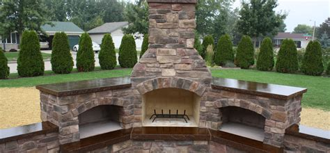 Concrete Outdoor Fireplace by Concrete Outdoor Fireplace Home Design Inspirations
