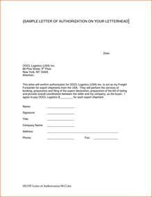 Authorization Letter On Company Letterhead Open Office Templates Letterhead Doctor Business