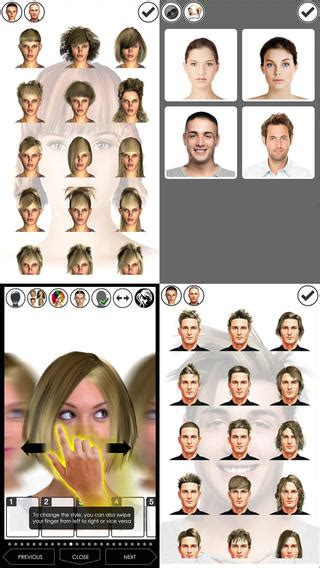 how to change your look hairstyle magic mirror change your look lite on the app store