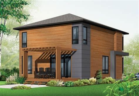 tre casa modelo de casa de 2 pisos y 3 habitaciones