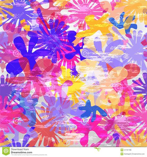 background pattern splash seamless bright splash pattern vector illustration stock