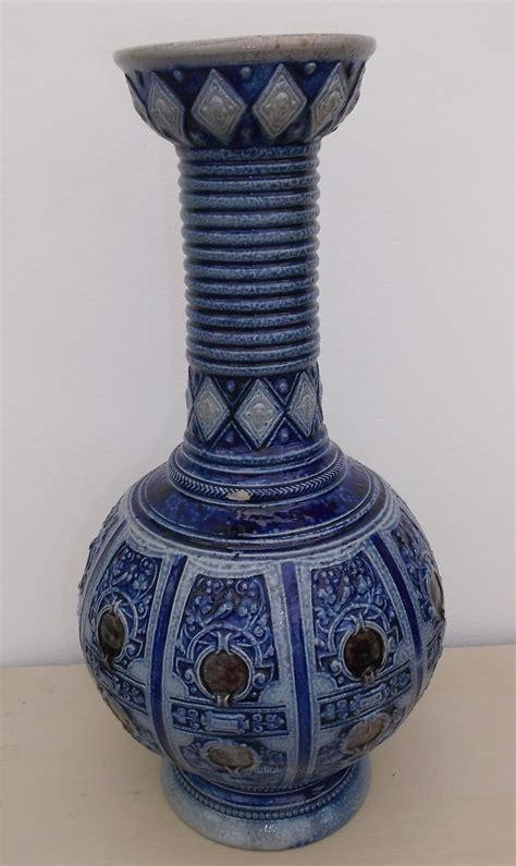 antiques atlas antique german stoneware vase