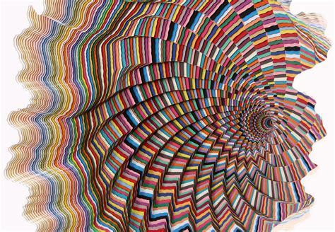 Paper Artist - jen stark one million pieces