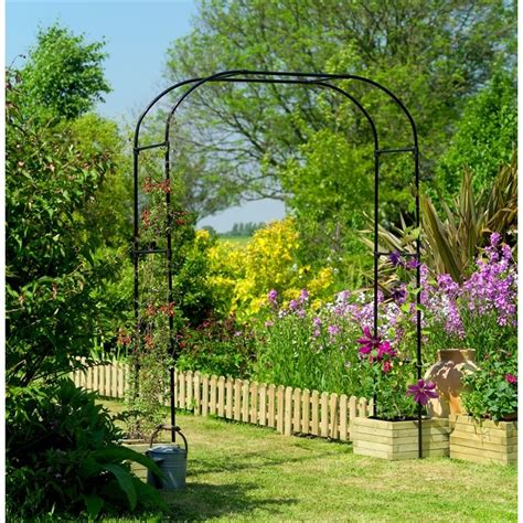 Garden Arch Gardman Wide Garden Arch The Garden Factory