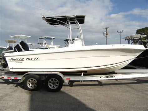 angler 204 boat angler 204 fx limited edition boats for sale
