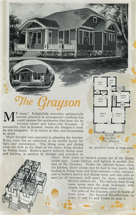 aladdin homes floor plans the grayson kit house by aladdin homes 1920 clipped