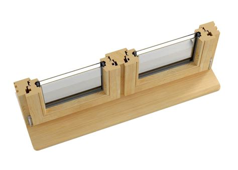 wood window section inward opening tilt and turn timber windows