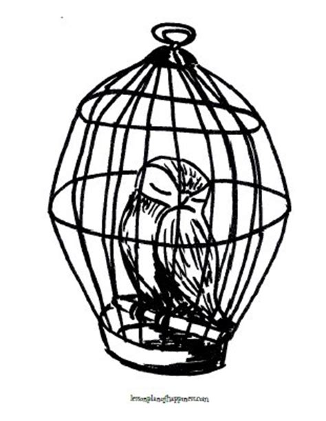 harry potter coloring pages owl 187 owl coloring page lesson plan of happiness