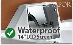 Luxor Whirlpool With Built In Tv Is The King Of Bathtubs by Hydromassage Whirlpool Bathtubs The Luxor