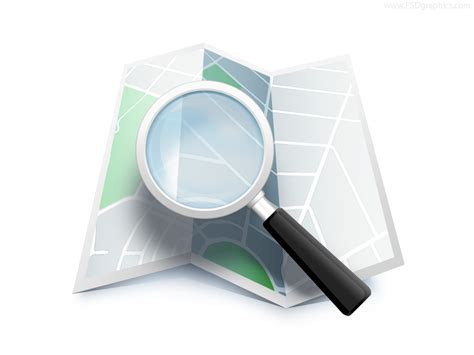 Search On By Location Search Map Location Icon Psd Psdgraphics
