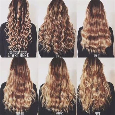 easy curling wand for permed hair beautiful blonde curls curly hair fashion girl goals