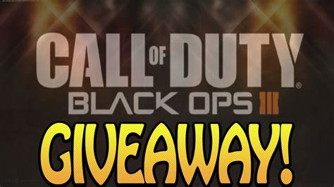 Code Giveaway - bo3 beta codes giveaway youtube