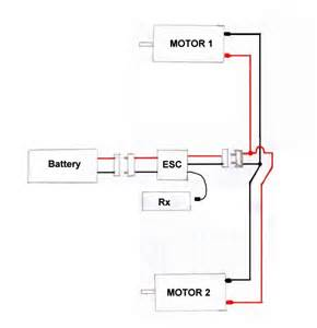 brushed motor wiring diagram model flying