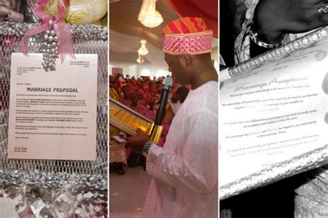 Marriage Letter Nigeria Eight Step Guide To A Yoruba Traditional Wedding Sugar Weddings