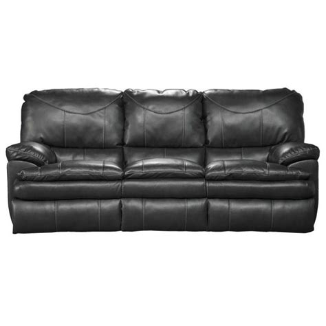 catnapper perez leather power reclining leather sofa in
