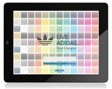 live adidas shoe designer app on wacom gallery