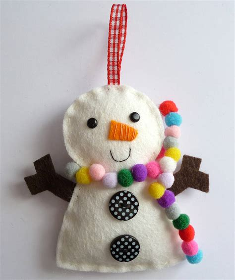 Snowman Decorating Kit by Snowman Decoration Mini Kit By Paper And String