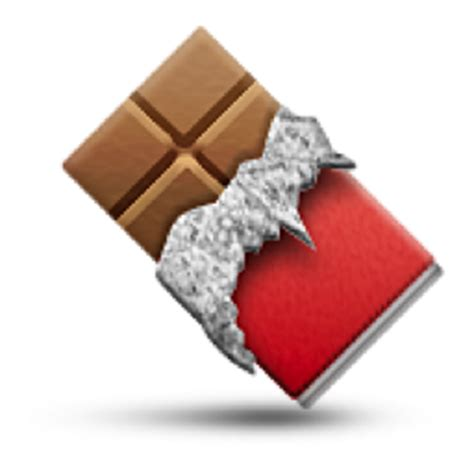 chocolate emoji chocolate bar emoji u 1f36b