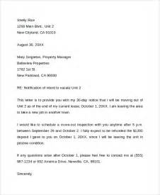 Apartment Termination Letter by Sle Lease Termination Letter 7 Documents In Pdf Word