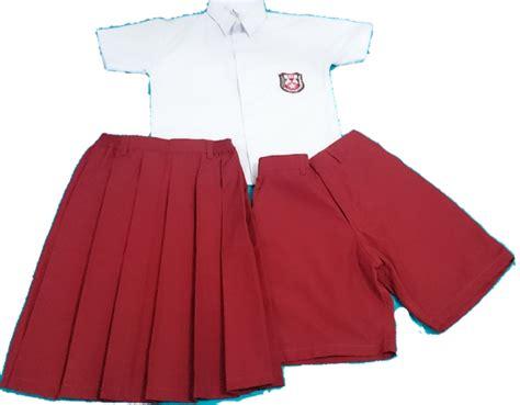 Seragam Anak Sekolah mengajarkan anak menggunakan seragam sekolah tinta