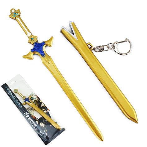 Figure Weapon Set Sword 2 7 08 sword 2 sao kirito golden sword