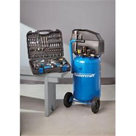 mastercraft 11 gallon air compressor and air tool kit combo canadian tire