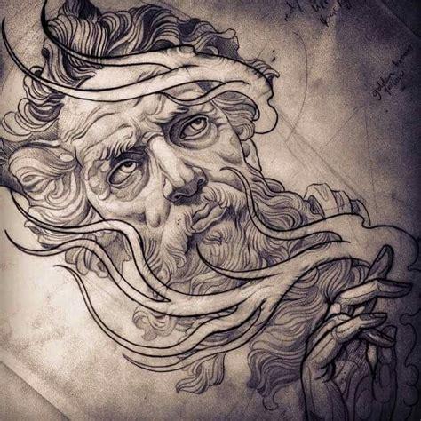 zeus tattoo designs pinteres