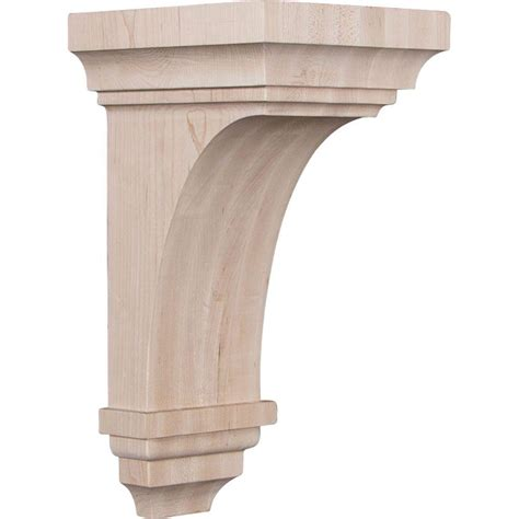 what is corbel ekena millwork 7 in x 14 in x 7 3 4 in maple jumbo