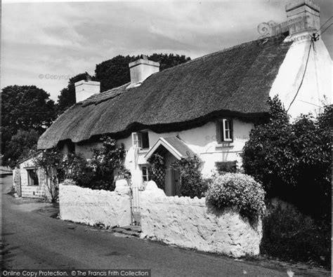 Oxwich Cottages by Oxwich The Cottage Where Wesley Slept C 1965 Francis Frith