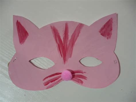 How To Make A Cat Mask Out Of Paper - how to make a cat mask out of paper 28 images the of a