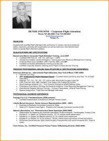 flight attendant resume sle with no experience 7 flight attendant resume no experience nypd resume