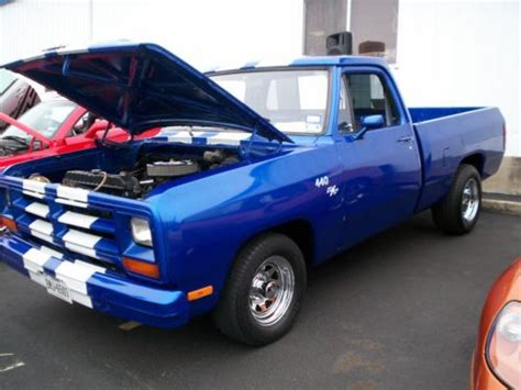 1985 dodge truck purchase used 1985 dodge truck d150 bed 440 big