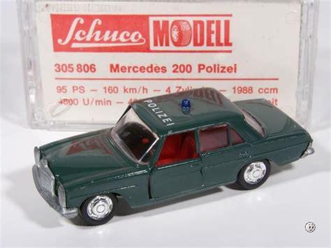 Minichs Mercedes 200 Polizei mercedes 200 8 polizei
