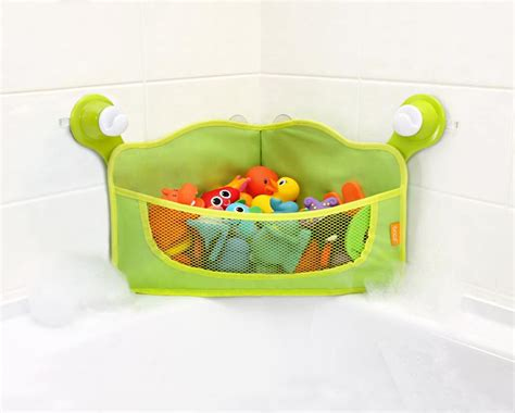 bathtub toy holder amazon com brica corner bath basket toy organizer