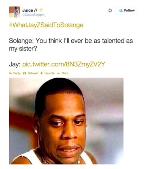 Meme Jay Z - solange fights jay z in elevator internet reactions