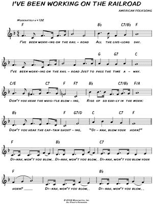 printable lyrics to i ve been working on the railroad american folk song quot i ve been working on the railroad