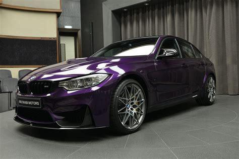 Purple Bmw Bmw M3 In Twilight Purple Looks Stunning