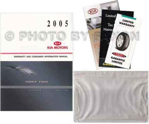 auto repair manual online 2005 kia spectra parking system new 2005 kia spectra owners manual owner guide book original oem with extras ebay