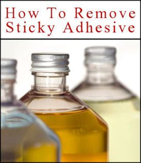 30 helpful items to remove sticky adhesive goo nail